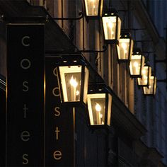 Hotel Costes in Paris. Went there for dinner in the court yard - very beautiful and decadent hotel. This place is also famous by their downtempo music CDs.