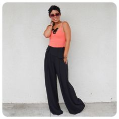 Fashion, Lifestyle, and DIY: Super Bad DIY Pants + Pattern Review Burda 7195