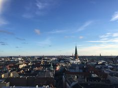 View from the Round Tower for our last day in Copenhagen. I wasn't ready to leave