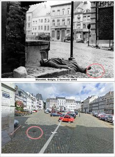 Citta' di Stavelot  Belgio   2 #Gennaio1945