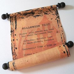 halloween parties are some of the most fun of the year finding creative ways to wow guests with the invitations and get them excited about the party is a - Creative Halloween Party Invitations