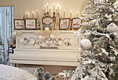 Penny's Vintage Home: Bringing Home the Tree