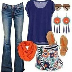 Look how great that Thirty-One Inside Out Bag looks with this outfit. Not your favorite pattern? No problem There are 4 other styles to choose from.  For exclusive members-only sales, deals, and giveaways, join my VIP group on Facebook:  www.facebook.com/groups/GottaGet31
