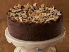 Chocolate Sformato with Amaretto Whip Cream