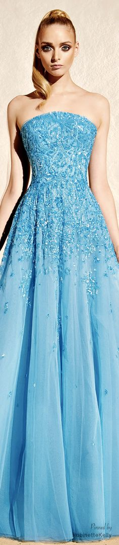 love the color, texture, sparkle - Zuhair Murad | Resort 2015