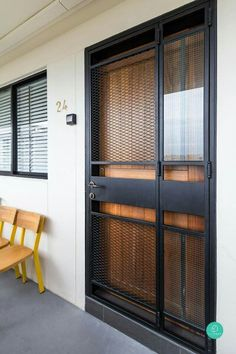 Apavisa hexagon finishing wall ceiling pinterest for Front door design for flats