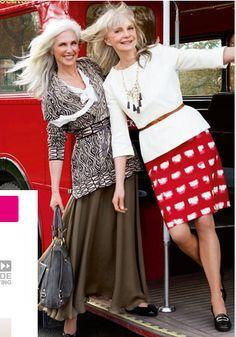 fashionable women over 50