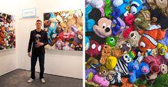 Brent Estabrook es un artista que abandonó su trabajo en los Ángeles para dedicarse a su verdadera pasión: la pintura. Hoy vive feliz y su arte es genial