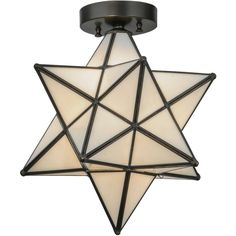 12 Inch W Moravian Star White Flushmount - Custom Made. 12 Inch W Moravian Star White flush mount Theme:  LODGE RECREATION Product Family:  Moravian Star White Product Type:  CEILING FIXTURE Product Application:  FLUSH MOUNT Color:  WHITE Bulb Type: MED Bulb Quantity:  1 Bulb Wattage:  60 Product Dimensions:  14.5H x 12WPackage Dimensions:  NABoxed Weight:  5 lbsDim Weight:  30 lbsOversized Shipping Reference:  NAIMPORTANT NOTE: Most of our items are unique handcrafted work of art. Natural…