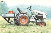 MOTHER's article shows you how to build a low-cost homemade mini-tractor, including deciding on the type of tractor you need, step-by-step instructions and building dimensions, tractor brakes and detailed diagrams. Originally published as Yard Tractors, Small Tractors, Compact Tractors, Garden Tractor Attachments, Deck Cost, Homemade Tractor, Tractor Implements, Welding And Fabrication, Farm Tools
