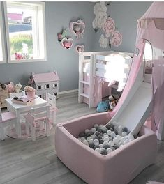 Kids Bedroom Ideas for Small Rooms You Should Try Now Toddler bedroom, big girl bedroom, little girl bedroom. Gallery wall library toysToddler bedroom, big girl bedroom, little girl bedroom. Baby Bedroom, Baby Room Decor, Nursery Room, Baby Girl Bedroom Ideas, Kids Bedroom Girls, Childrens Bedroom Ideas, Toddler Bedroom Ideas, Childrens Party, Gurls Bedroom Ideas