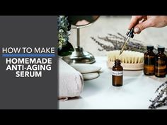 This homemade anti aging serum recipe will help the skin look vibrant and youthful while delivering vital nutrients, antioxidants and hydration! Anti Aging Tips, Anti Aging Serum, Best Anti Aging, Anti Aging Skin Care, Lavender Essential Oil Uses, Top Essential Oils, Lavender Oil, Anti Aging Supplements, Perfume