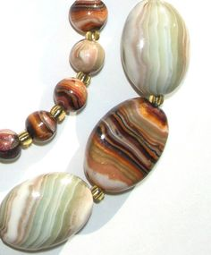 Faux agate beads by koketk0, polymer clay. Page has been translated. #Polymer #Clay #Tutorials