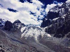 Faszinierender #gletscher im #alaarcha nationalpark! #kirgistan ist eben doch ein bisschen wie die Schweiz
