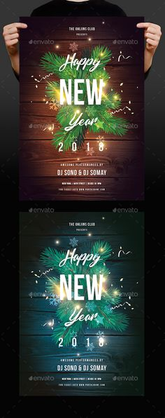 1042 best New Year Party Flyer Templates images on Pinterest New Year Party Flyer