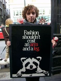 Animal Rights - Anti fur