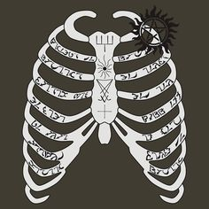 Supernatural+-+Dean+Winchester's+Ribcage