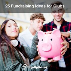 25 Fundraising Ideas for Clubs. Raise more money for your service group, school club or group trip with unique fundraisers.