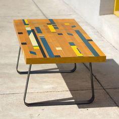 Diy Gym Floor Desks With Industrial Plumbing Fixture