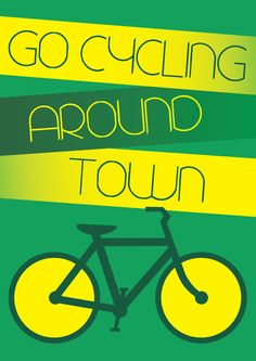 Go green and get where you need to go on bike.