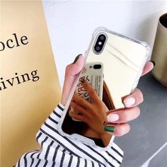 Mirror Phone Case - gold / for iphone X