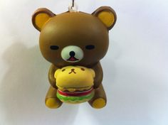 hamburger products | TheCuteShop | *RARE* Rilakkuma Holding Hamburger Squishy | Online ...