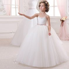 http://babyclothes.fashiongarments.biz/  Vintage Spaghetti Straps White Tulle Flower Girl Dresses with Bow Ribbon Sash Robe fille mariage 2016 Kids Wedding Party Gown, http://babyclothes.fashiongarments.biz/products/vintage-spaghetti-straps-white-tulle-flower-girl-dresses-with-bow-ribbon-sash-robe-fille-mariage-2016-kids-wedding-party-gown/, , , Baby clothes, Kids Clothes, Toddler Clothes, US $85.00, US $85.00  #babyclothes