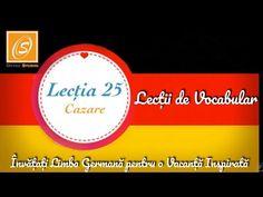 Lecția 25 -Cazare - Lecții de Vocabular in Limba Germană - YouTube Chart, Youtube, Youtubers, Youtube Movies