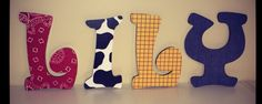 Custom Decorated Wooden Letters - Toy Story Theme by NiftyNancyDesigns on Etsy https://www.etsy.com/listing/186083089/custom-decorated-wooden-letters-toy