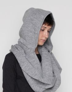 Hooded Cowl Long