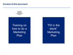 Pricing Strategy  Marketing Plan Template