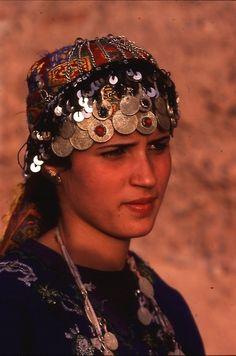 A Berber woman Atlas mountains Morocco