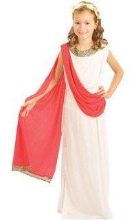Children - Disfraz de romana para niña, talla 7 - 9 años (G51102M)