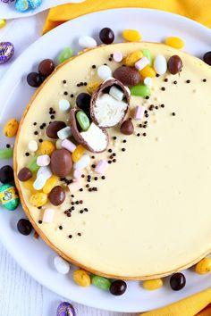 Suklaapossu: Ihana paistettava sitruunainen juustokakku