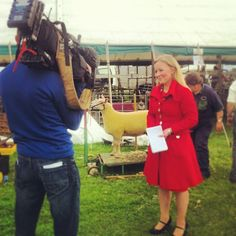 BBC Look North spreading the word about a great Lincolnshire Show http://www.bbc.co.uk/news/england/lincolnshire/
