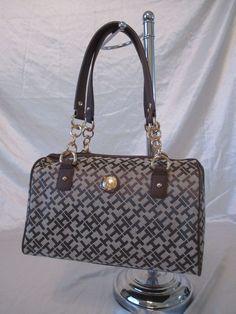 New Handbag Tommy Hilfiger Purse Style Satchel 6925747 Variation Colors #TommyHilfiger #Satchel