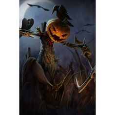 My Clothing Line: Scary jack-o-lantern scarecrow and crows gear Cool Halloween Image, Halloween Mural, Halloween Town, Holidays Halloween, Happy Halloween, Halloween Stuff, Halloween Images, Halloween Ideas, Halloween Decorations