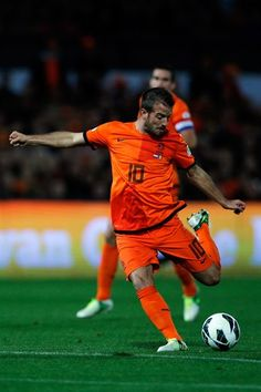 Playmaker Rafael van der Vaart feels he is back where he belongs after being recalled by Netherlands for the 2014 World Cup qualifying matches against Andorra and Romania.