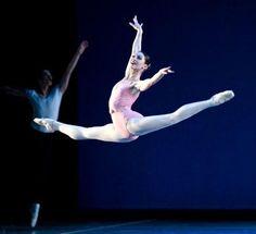 Boston Ballet's Kathleen Breen Combes in Balanchine's Symphony in C