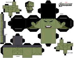 Cubeecraft Template Hulk by briciocl on deviantART