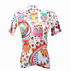 Paladin Womens Owl Design Cycling Jersey Size XL ** Want additional info? Click on the image. #FunCycling