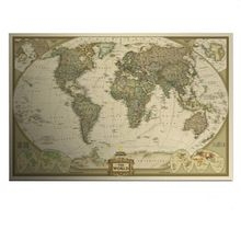 Vek Vintage Mapa Home Dekorcie Podrobn Antique Plagt Wall Chart Retro Matn Kraft Paper 28