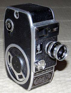 Vintage Paillard-Bolex 8mm Movie Camera.