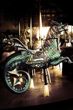 Carousel Dragon by ~Latinflavor on deviantART