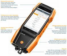 Măsurarea gazelor de ardere cu adevărat inteligentă. | InstalNews.ro Smartphone, Technology, Electronics, Tech, Tecnologia, Consumer Electronics