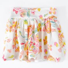 Beautiful & fun floral bubble skirt, perfect for the fashionable little girl in your life! Most sizes are ready to ship! Made from soft and comfy knit fabric!  Handmade by Toorahloo (a gorgeous handmade shop which has closed its doors) with 100% designer knit fabrics. All edges and seams have been serged for a professional finish!  For best care, hand wash and lay flat to dry. Otherwise, cold water wash on delicate, tumble dry low heat.  Follow The Cranky Peach on Instagram for giveaways,...