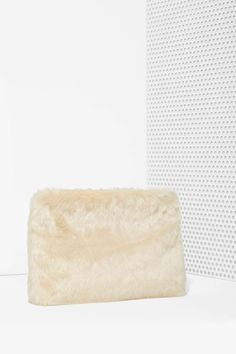 Nasty Gal x Nila Anthony Faux Fur Life Clutch | Shop Bags + Backpacks at Nasty Gal