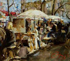 Oleg Trofimov, 1962 ~ Russian Impressionist painter