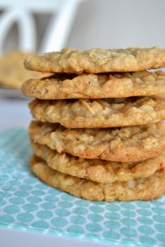 all-time favorite cookie: ranger cookies // from paper{whites}