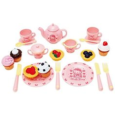 Hello Kitty Tea Time set -- You can find more details by visiting the image link.Note:It is affiliate link to Amazon.